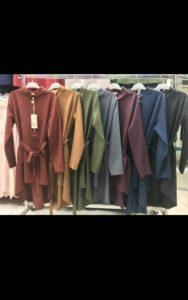 Yarım Fermuarlı Tunik 2693 Renkleri