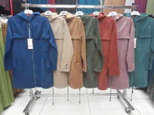 Kapüşonlu Kadife Tunik 2700 Renkleri